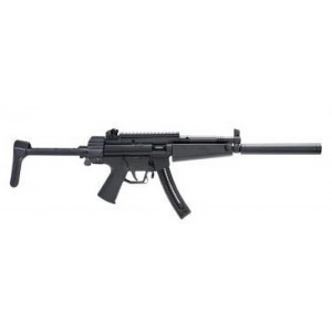 """American Tactical Imports 522 Lightweight .22 Long Rifle 10-Round 16.25"""" Semi-Automatic Rifle in Black - 522RLC22"""