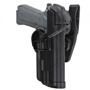 Level 3 Serpa - Light Bearing Duty Holster Gun Fit: Sig Sauer P220 Finish: Plain Hand: Right - 44H506PL-R
