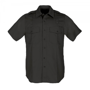 5.11 Tactical PDU Class A Men's Uniform Shirt in Black - Medium