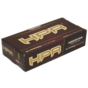 HPR Ammunition High Precision Range Rifle .223 Remington/5.56 NATO Full Metal Jacket, 55 Grain (50 Rounds) - 223055FMJ