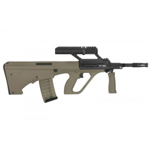 """Steyr Arms Aug, A3 M1, Semi-automatic, 223 Rem, 556nato, 16"""" Barrel, Mud Synthetic Stock, 30rd, 1.5x Optic Augm1blks"""