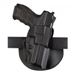 5198 Open Top Concealment Paddle/Belt Loop Holster with Detent Finish: STX Plain Gun Fit: STI 2011 with Full Size Dust Cover (5  bbl) Hand: Left - 5198-850-412