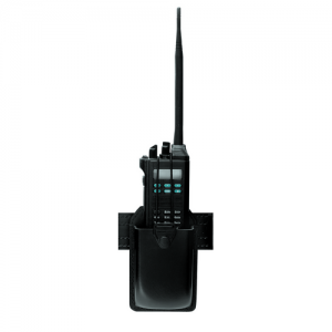Radio Holder for XTS 5000 and Similar Color: Black Finish: Basket Weave