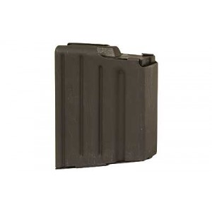 Asc Magazine, 308 Win, Fits Ar Rifles, 5rd, Stainless, Black 308-5rd-ss