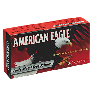 Federal Cartridge American Eagle .38 Super Jacketed Hollow Point, 115 Grain (50 Rounds) - AE38S3