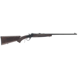 """Winchester 1885 .17 HMR Low Wall Hunter 24"""" Falling Block Rifle in Blued - 524100170"""