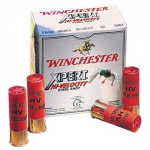 "Winchester Expert Hi-Velocity Waterfowl .12 Gauge (2.75"") 4 Shot Steel (250-Rounds) - WEX124"