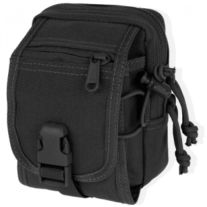 Maxpedition M-1 Waterproof Waist Pack in Black 1000D Nylon - 0307B