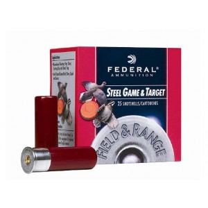 "Federal Cartridge Field & Range Steel Target, Upland Game .410 Gauge (3"") 7 Shot Steel (250-Rounds) - FRS4137"