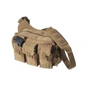 5.11 Tactical Bail Out Bag Weatherproof Range Bag in Flat Dark Earth 1050D Nylon - 56026