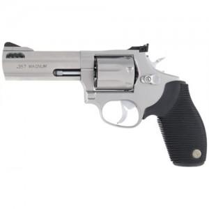 "Taurus 627 .357 Remington Magnum 7-Shot 4"" Revolver in Matte Stainless - 2627049"