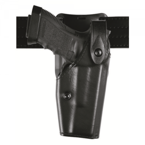6285 Low Ride SLS Hooded Duty Holster Finish: Hi Gloss Gun Fit: Sig Sauer P228 with ITI Mount and M3 (3.9  bbl) Hand: Left - 6285-7421-92