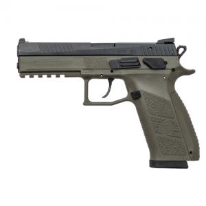 "CZ P-09 9mm 19+1 4.53"" Pistol in OD Green (Night Sights) - 91268"