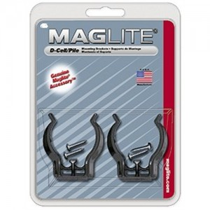 MagLite D-Cell Flashlight Mounting Bracket ASXD026