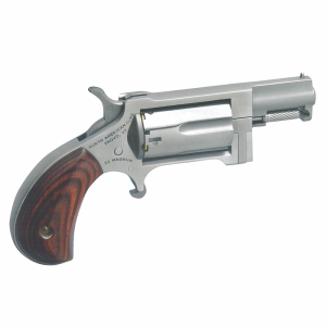 "North American Arms Sidewinder .22 Long Rifle/.22 Winchester Magnum 5-Shot 1.62"" Revolver in Stainless - NAASWC"