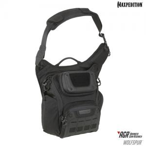 Maxpedition - WOLFSPUR™ Crossbody Shoulder Bag Color: Black
