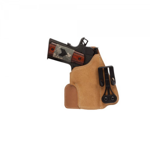 Leather Tuckable Holster Left  Color: Brown Kel-Tec/Kahr/Ruger 380's - 421605BN-L
