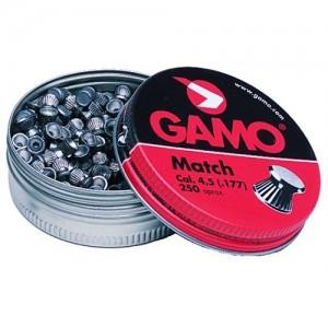 Gamo .177 Caliber Flat Nose Match Pellets/250 Count 632002454