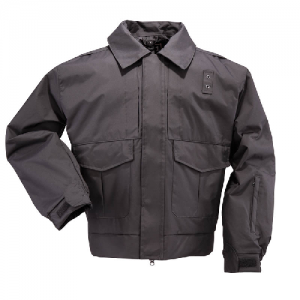 5.11 Tactical 4-in-1 Patrol Men's Full Zip Jacket in Black - 2X-Large