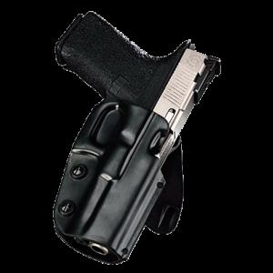 "Galco International Matrix Right-Hand Paddle Holster for FN Herstal Five-Seven USG in Black (1.75"") - M5X458"