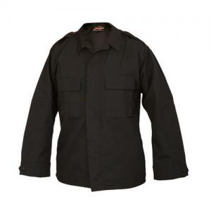 Tru Spec Tactical Men's Long Sleeve Shirt in Black - Large