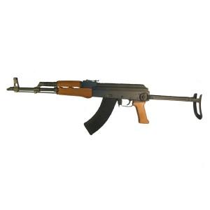 "High Standard AKMS 7.62X39 30-Round 16"" Semi-Automatic Rifle in Matte Black/Wood - AKMS-W"