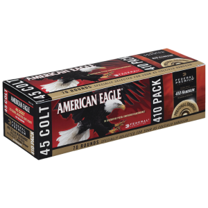 Federal Cartridge .410/45 Long Colt Jacketed Soft Point, 225 Grain (70 Rounds) - PAE412000