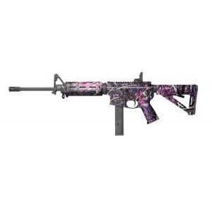 "Colt AR6951 9mm 32-Round 16"" Semi-Automatic Rifle in Muddy Girl - AR6951MPMG"