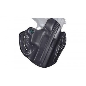 "Desantis Gunhide 2 Speed Scabbard Right-Hand Belt Holster for Smith & Wesson Shield in Black (4"") - 002BA27Z0"
