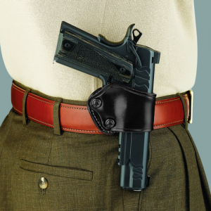 """Galco International Yaqui Left-Hand Paddle Holster for Beretta 92Fs in Black (5"""") - YP203B"""