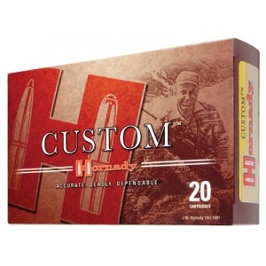 Hornady 6mm Remington Boat Tail Soft Point, 100 Grain (20 Rounds) - 8166