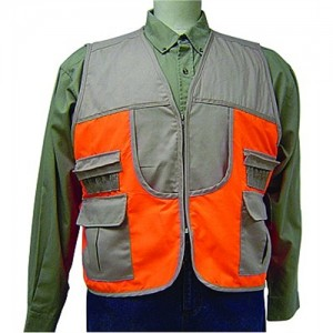 Allen Company Safety Vest in Mesh Orange/Brown - Medium