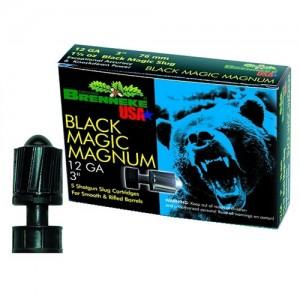 """Brenneke USA Black Magic Magnum .12 Gauge (3"""") Slug (Sabot) Lead (5-Rounds) - SL123BMM"""