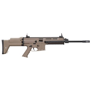 "ISSC/LSI MK22 .22 Long Rifle 10-Round 16"" Semi-Automatic Rifle in Desert Tan - M211004"