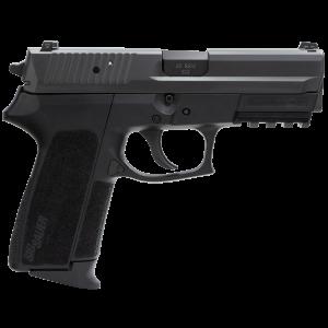 "Sig Sauer SP2022 Full Size .40 S&W 10+1 3.9"" Pistol in Black Nitron (SIGLITE Night Sights) - SP202240BSS"