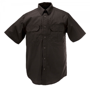 5.11 Tactical Pro Men's Uniform Shirt in Black - Large