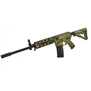 "2 Vets Blackout .300 AAC Blackout 30-Round 16"" Semi-Automatic Rifle in Black - 2VA300ATFG"