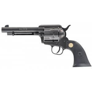 "Chiappa 1873 .22 Long Rifle 10-Shot 5.5"" Revolver in Black (Army) - CF340160"