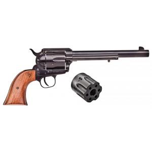 "Citadel M-1873 .22 Long Rifle/.22 Winchester Magnum 6-Shot 7.5"" Revolver in Antique - PCR1873227AP"