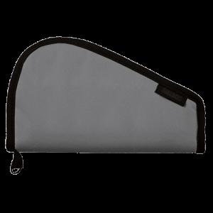 "Bulldog Pistol Rug Small Pistol Rug 12""x6"" Water Resistant Nylon Textured Grey BD610"
