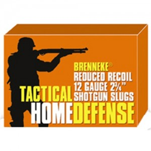 "Brenneke USA Tactical Home Defense .12 Gauge (2.75"") Slug Lead (5-Rounds) - SL122THD"