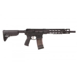 """Primary Weapons Systems MK1 .223 Wylde/5.56 NATO 30+1 11.8"""" AR Pistol in Black Aluminum (Mod 2) - 2M111PA1B"""