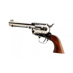 "EAA Bounty Hunter .45 Long Colt 6-Shot 4.5"" Revolver in Nickel - 770098"