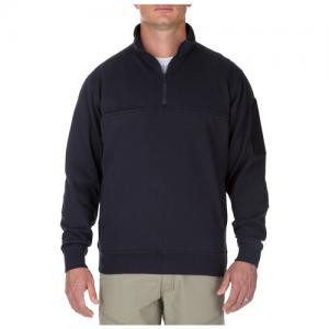 5.11 Tactical Utility Shirt Men's Long Sleeve Shirt in Fire Navy - Large