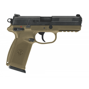 "FN Herstal FNX-45 .45 ACP 10+1 4"" Pistol in Black (Manual Safety) - 66965"