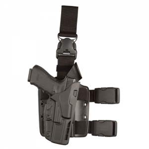 7385 ALS Tactical Holster Gun Fit: Glock 17 (4.5  bbl) Finish: STX Plain Hand: Right Handed - 7385-83-411