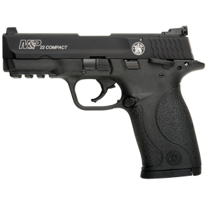 "Smith & Wesson M&P Compact .22 Long Rifle 10+1 3.6"" Pistol in Polymer - 108390"