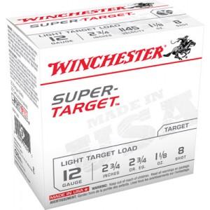 "Winchester Super Target .12 Gauge (2.75"") 7.5 Shot Lead (250-Rounds) - TRGT128"