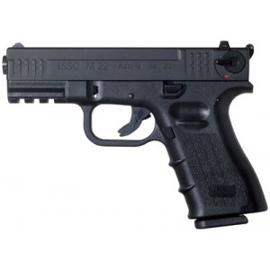 "ISSC/LSI M22 Target .22 Long Rifle 10+1 5.5"" Pistol in Black - 111002"