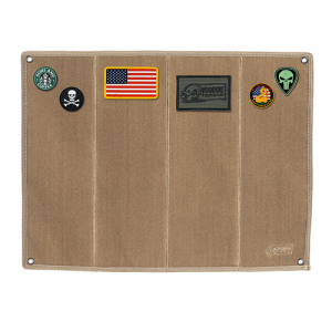 Morale Patch Board with Brush Fabric - Coyote